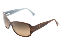 Maui Jim Nalani Tortoise W White And Blue Hcl Bronze Polarized Sport Sunglasses Brown