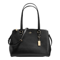 Coach Crossgrain Leather Double Zip Carryall