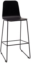 Modloft Urbn Agnes High Back Barstool