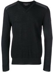 Canada Goose V Neck Jumper Black