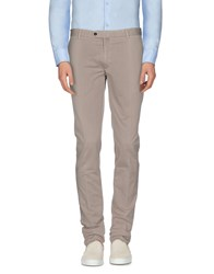 Luigi Bianchi Mantova Trousers Casual Trousers Men Beige