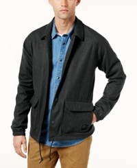Rvca Men's Wrenchman Ii Jacket Charcoal Heather