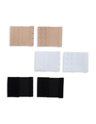 Fashion Forms 6 Piece 4 Hook Bra Extenders Assorted
