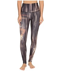 Onzie Henna High Rise Graphic Leggings Henna Women's Casual Pants Brown