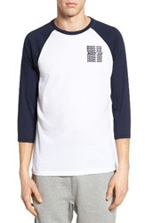 Nike Men's Sb Dry Graphic Baseball T Shirt White Obsidian