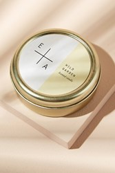 Anthropologie Essence Alchemy Tin Candles Yellow
