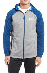 Under Armour Men's Ua Tech Tm Terry Zip Hoodie True Gray Heather