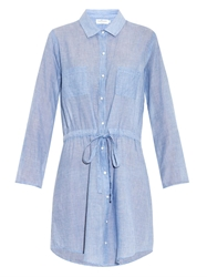 Velvet By Graham And Spencer Monet Chambray Shirt Dress