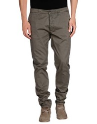 Obvious Basic By Paolo Pecora Casual Pants Grey