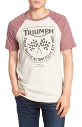 Lucky Brand Men's Triumph Flags Graphic T Shirt