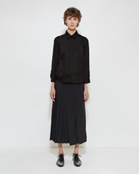 Jil Sander Bagel Skirt Black