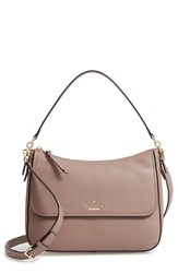 Kate Spade New York Jackson Street Colette Leather Satchel Brown Brownstone