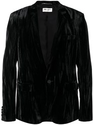 Saint Laurent Tailored Suit Jacket Black