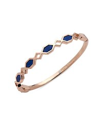 Ivanka Trump Turquoise Re Constituted Stone Bangle Blue