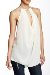 Blvd T Back Tank White
