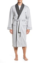 Majestic International Double Take Robe Grey