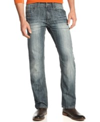 Inc International Concepts Jeans Mynx Relaxed Straight Jeans Medium Wash