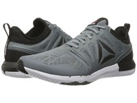 Reebok Zprint 3D Asteroid Dust Coal White Black Men's Running Shoes Gray