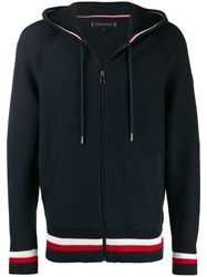 Tommy Hilfiger Zipped Hoodie Blue