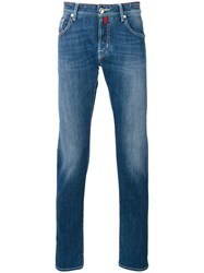 Jacob Cohen Light Wash Jeans Blue