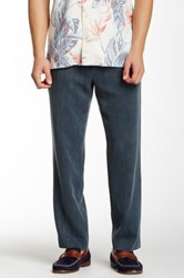 Tommy Bahama Havana Pleated Herringbone Pant Blue