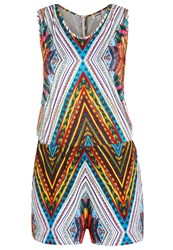 Smash Floyd Jumpsuit Turquoise Multicoloured