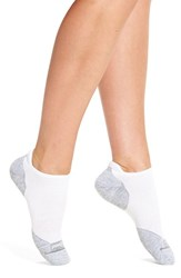 Smartwool Women's 'Run Elite' Ultra Light No Show Socks White Light Gray