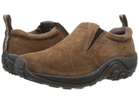 Merrell Jungle Moc Dark Earth Suede Slip On Shoes Brown