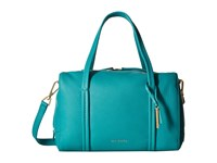 Vera Bradley Mallory Satchel Turquoise Sea Satchel Handbags Blue