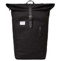 Sandqvist Dante Rolltop Backpack Black