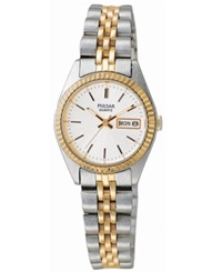 Pulsar Watch Women's Stainless Steel Bracelet Pxx006 Women's Shoes