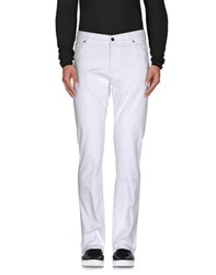 Versace Collection Denim Denim Trousers Men White