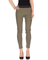 Kiltie Trousers Casual Trousers Women Military Green