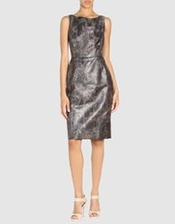 Isaac Mizrahi 3 4 Length Dresses Bronze