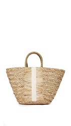 Hat Attack Seagrass Tote Ivory