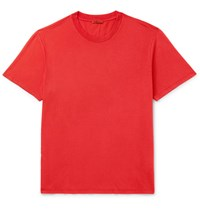 Barena Cotton Jersey T Shirt Papaya
