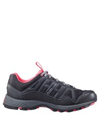Helly Hansen Pace Trail Textured Lace Up Sneakers Black Charcoal