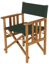 Barlow Tyrie Safari Teak Folding Chair Forest Green 200 None