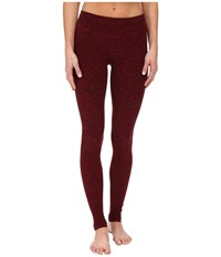 Beyond Yoga Long Essential Legging Black Garnet Red Women's Workout
