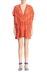 Women's Missoni Mare Chevron Stripe Cover Up