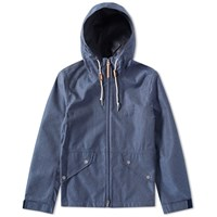 Gant Rugger 3 Layer Chambray Jacket Blue