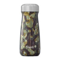 S'well Bottle The Metallic Camo Traveller Incognito Green