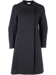 Io Ivana Omazic Double Breasted Coat Blue