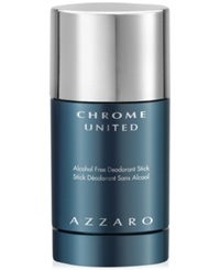 Chrome United By Azzaro Deodorant Stick 2.7 Oz