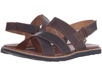 Clarks Lynton Bay Tan Leather Men's Sandals