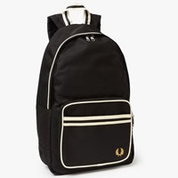 Fred Perry Twin Tipped Backpack Black