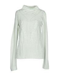 Vero Moda Knitwear Turtlenecks Women Light Green