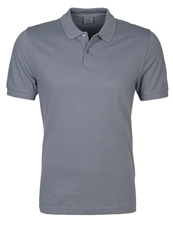 Ck Calvin Klein Pete Fitted Polo Shirt Charcoal Dark Gray