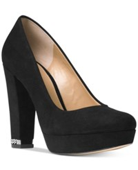 Michael Kors Sabrina Platform Pumps Women's Shoes Black