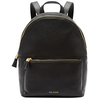 Ted Baker Mollyyy Leather Backpack Black